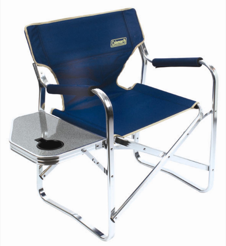 Coleman Directoru0027s Chair   Blue