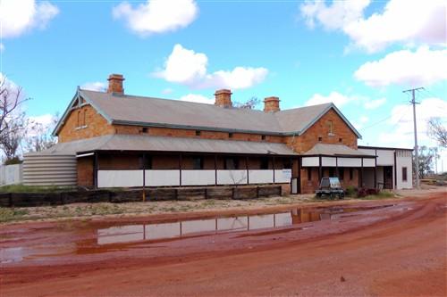 Oodnadatta rail station