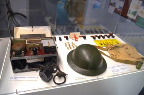 Equipment exhibit