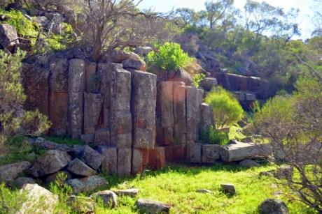 Rhyolite outcrops