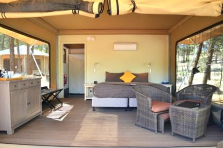 Safari Tent C&ing in style & Ikara Safari Camp - glamping in the Flinders Ranges | RAA