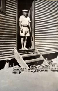 Japanese internee at Loveday