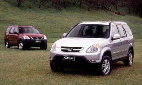 2002 Honda CR V