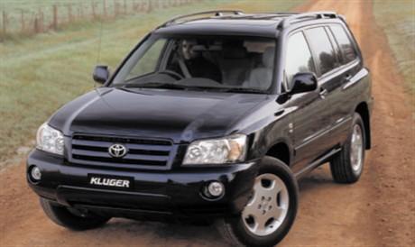 2004 Toyota Kluger - Car Reviews | RAA